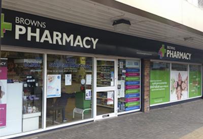Browns Pharmacy - Kingshurst