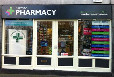 Browns Pharmacy - Kings Norton